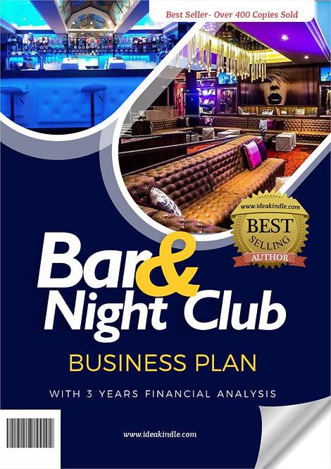 Night club and bar business plan