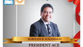 Congratulation untuk Dr. Haryadi Sukamdani.