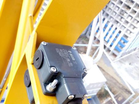 Концевой выключатель грузового момента башенного крана и скорости подъёма максимального груза