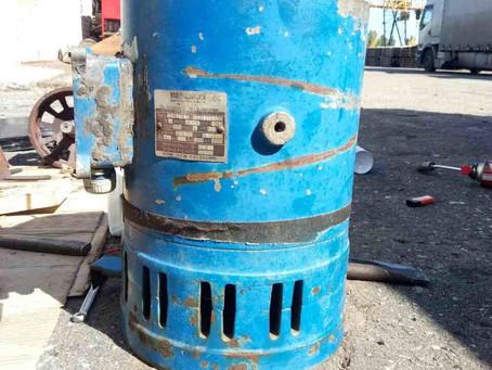 Текущий ремонт механизма поворота стрелы башенного крана МК160 GC Peiner System (Италия)