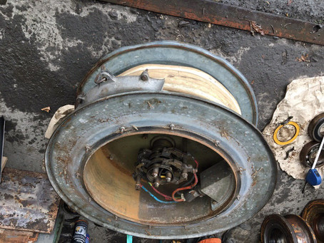 Liebherr 35K ремонт ходовых колёс быстромонтируемого башенного крана