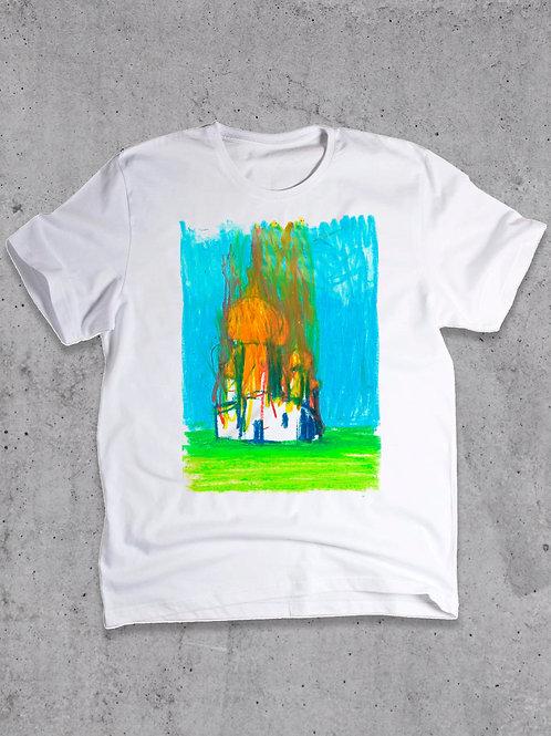 футболка с рисунком