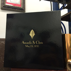 custom boxes gold foil
