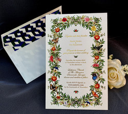 elegant wedding invitations in NYC
