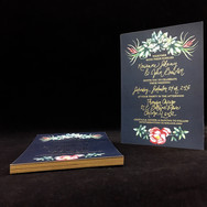 Foil Stamping Wedding Invitations in NYC