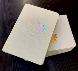 custom foil stamping on books NYC