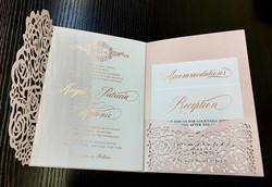 laser cut invitations in NYC