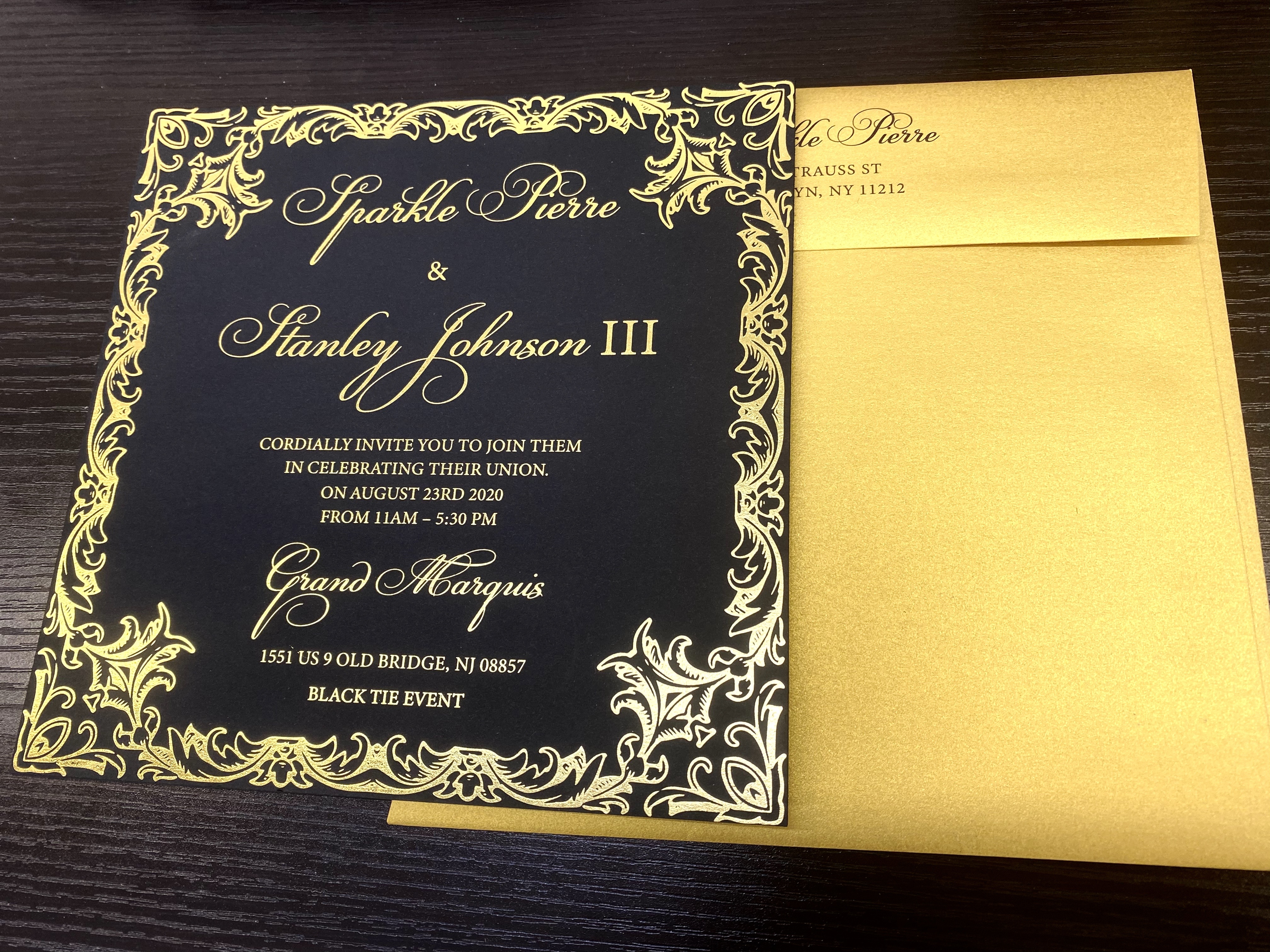 foil stamping invitations in NYC 4