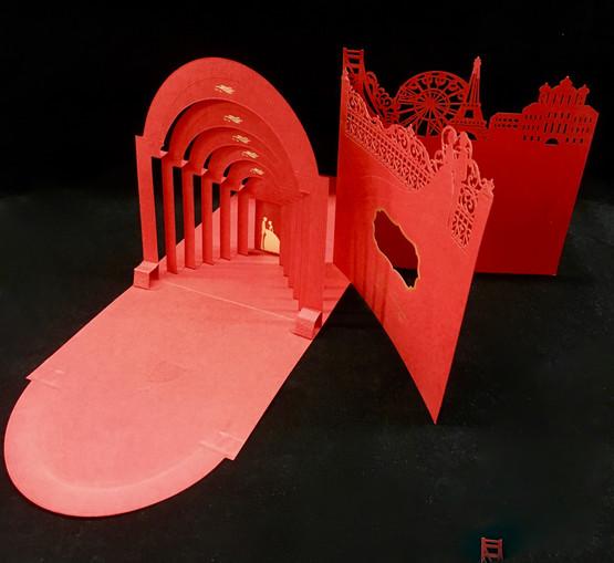 laser cut wedding invitations in NYC