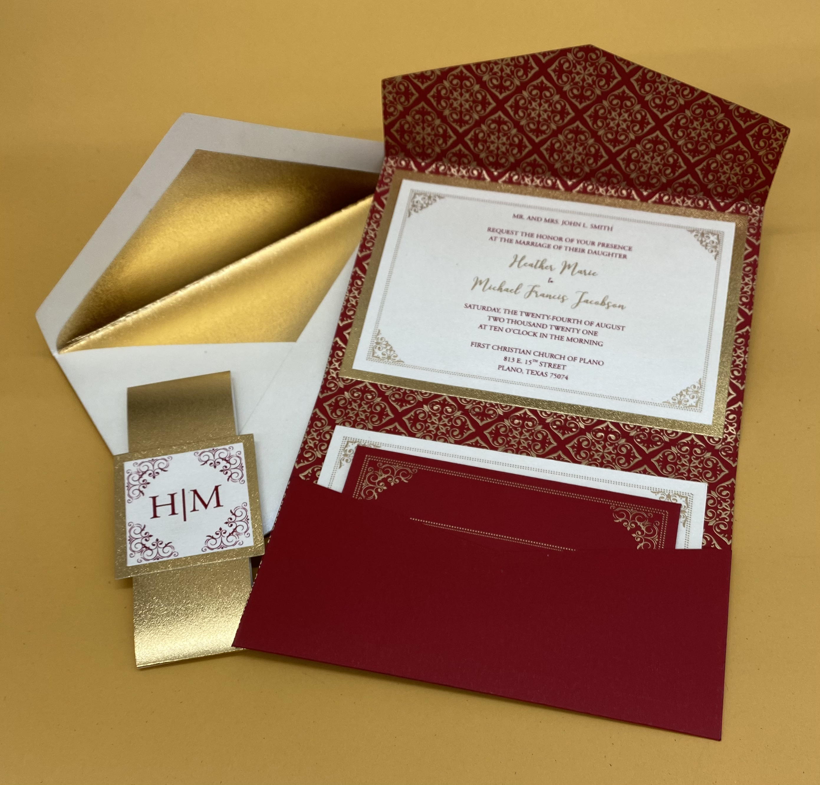 wedding invitations in NYC