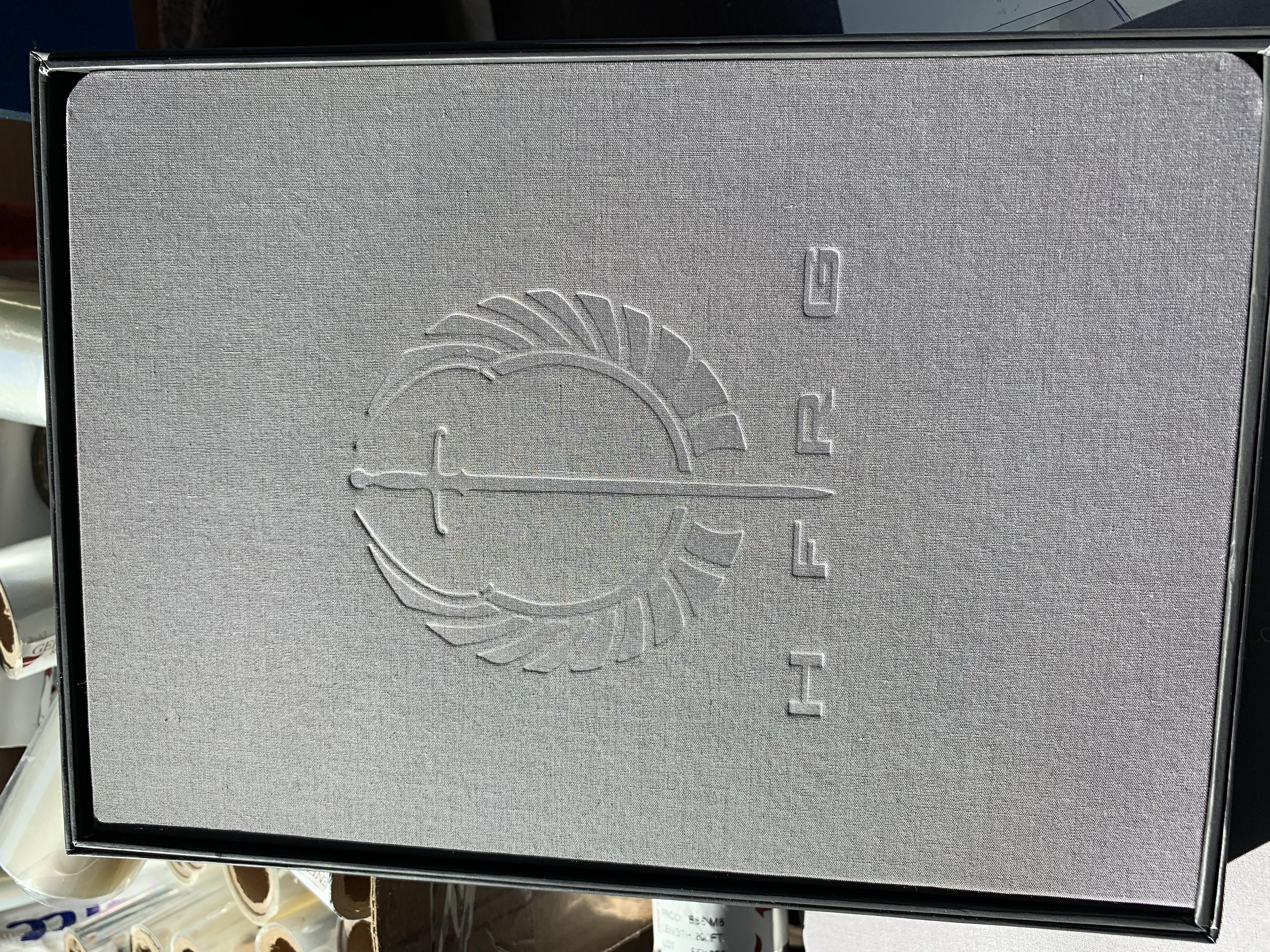 NYC printing studio foil stamping
