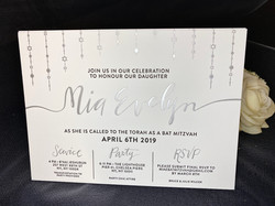 Bar and Bat Mitzvah invitations NYC
