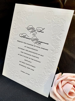 letterpress invitations NYC