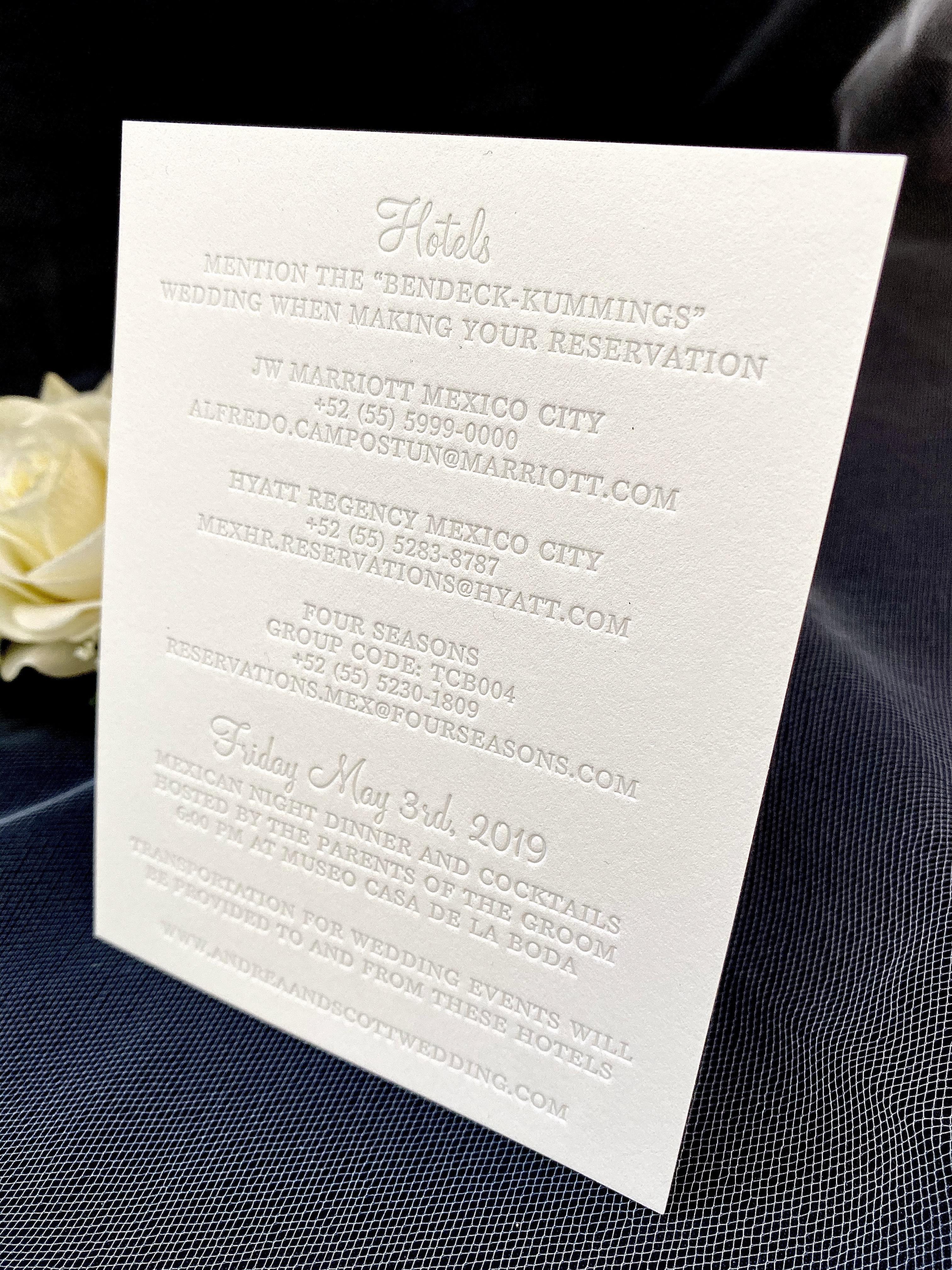 elegant invitations in NYC