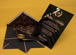 Elegant invitations print in NYC