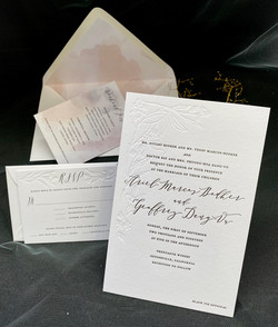 custom letterpress invitations in NYC