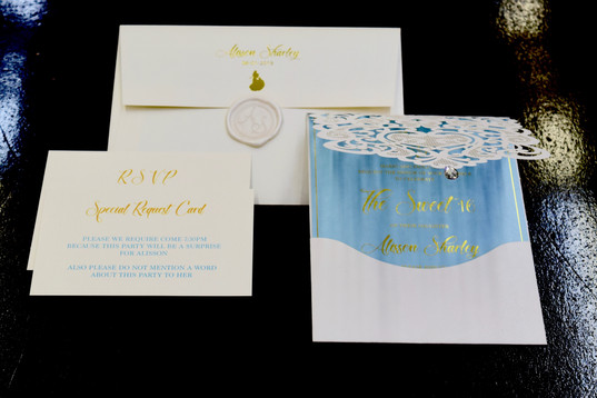Custom invitations in NYC