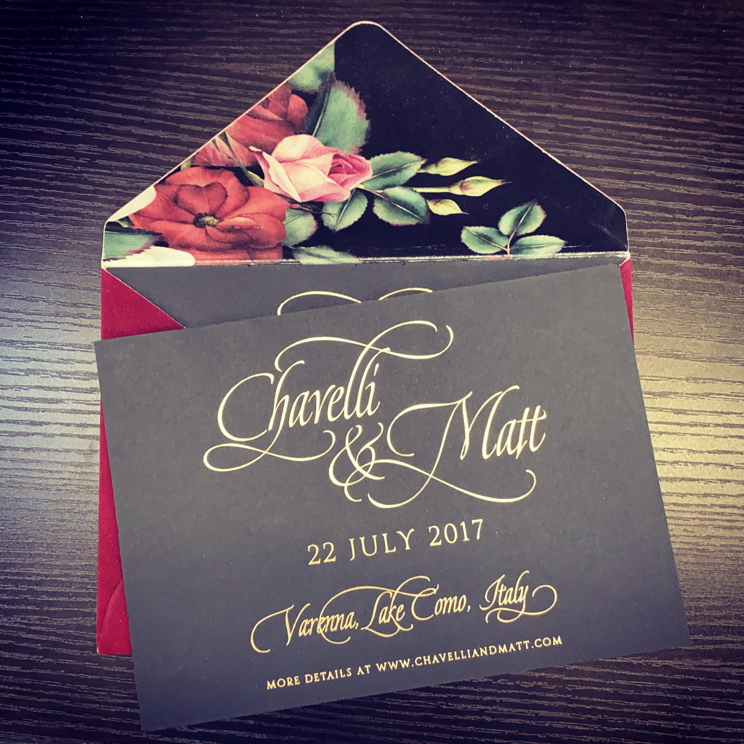 custom wedding invitations in NYC 4