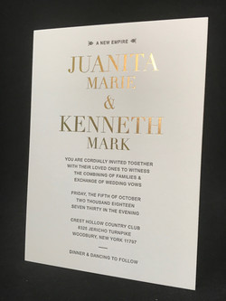CUSTOM WEDDING INVITATIONS IN NYC
