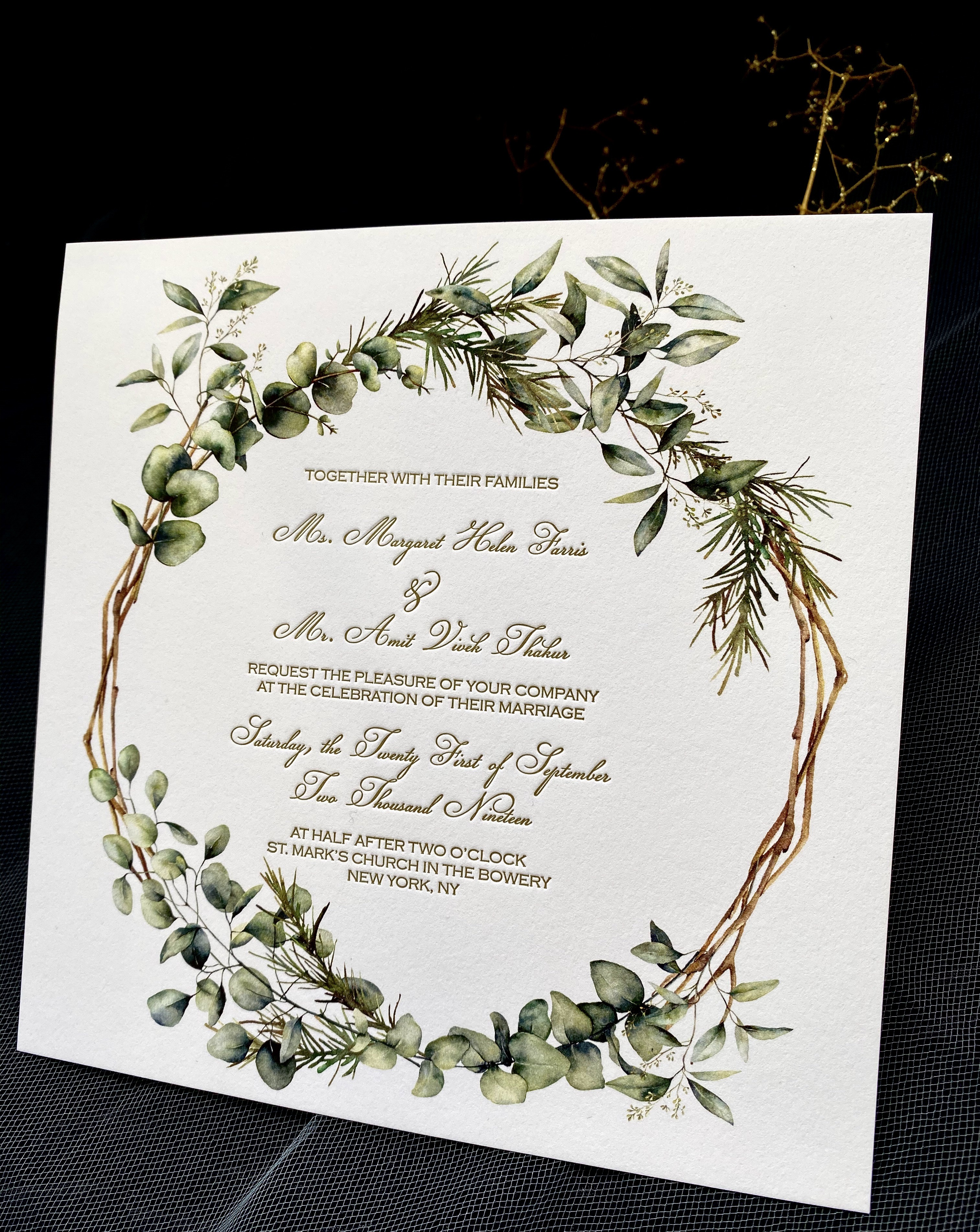NYC affordable invitations in NYC