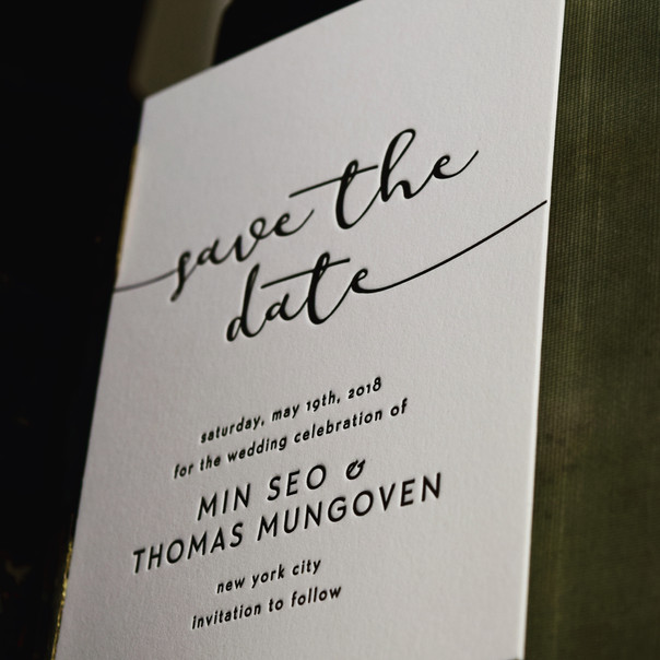 save the dates in NYC