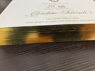 Gilding edge painting in NYC