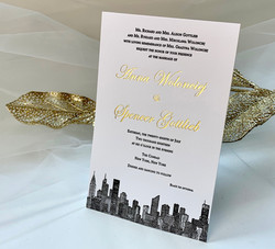 NYC Wedding invitations studio
