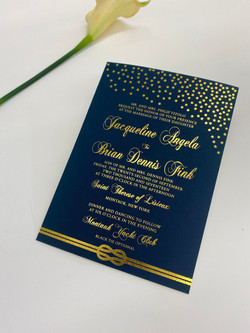 NYC custom wedding invitation studio