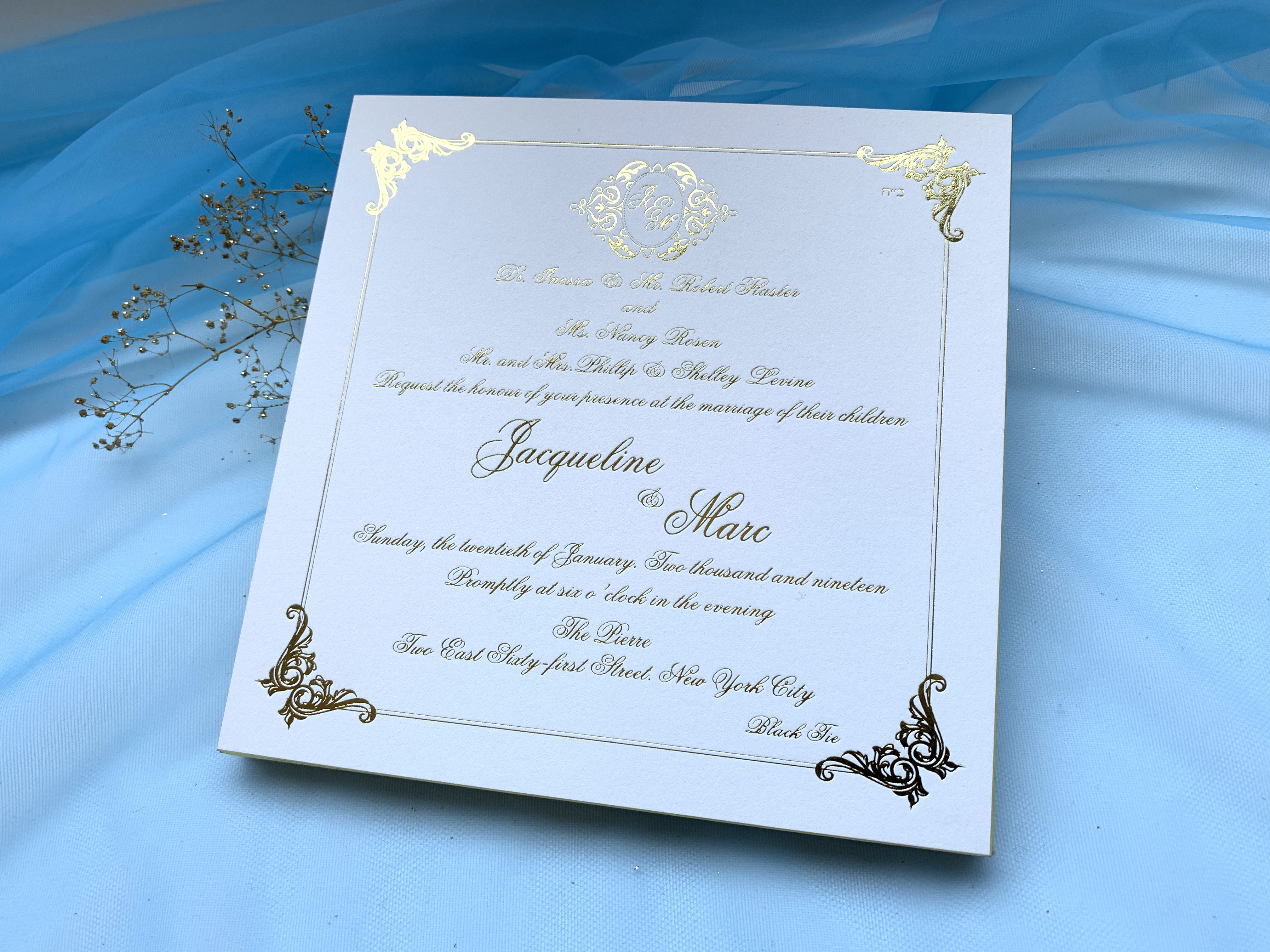 wedding invitations NYC