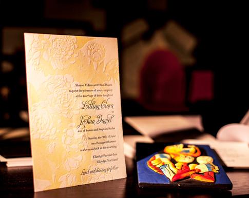 Letterpress Wedding Invitations in NYC