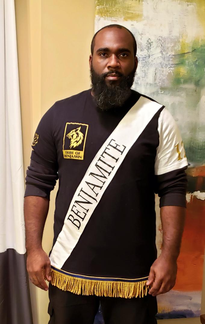 True Hebrew Benjamite Custom tshirt