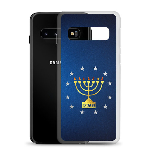 MENORAH WITH STARS SAMSUNG CASE