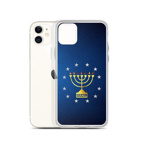 MENORAH WITH STARS iPHONE CASE