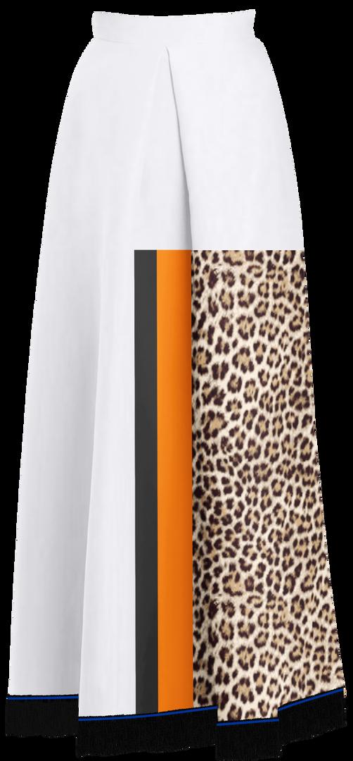 Leopard Print Maxi Shirt