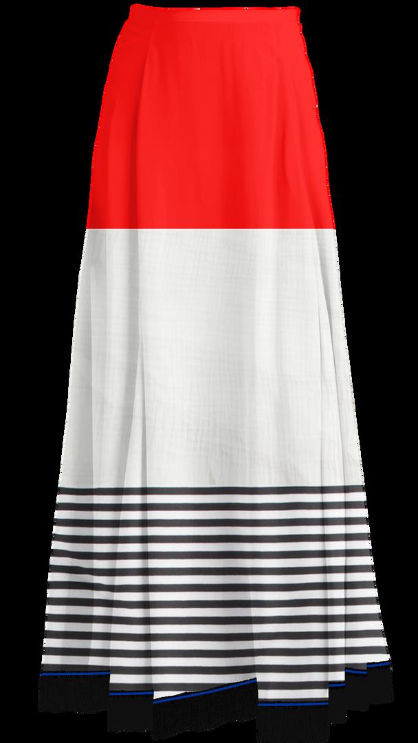 Three Tier Maxi Skirt