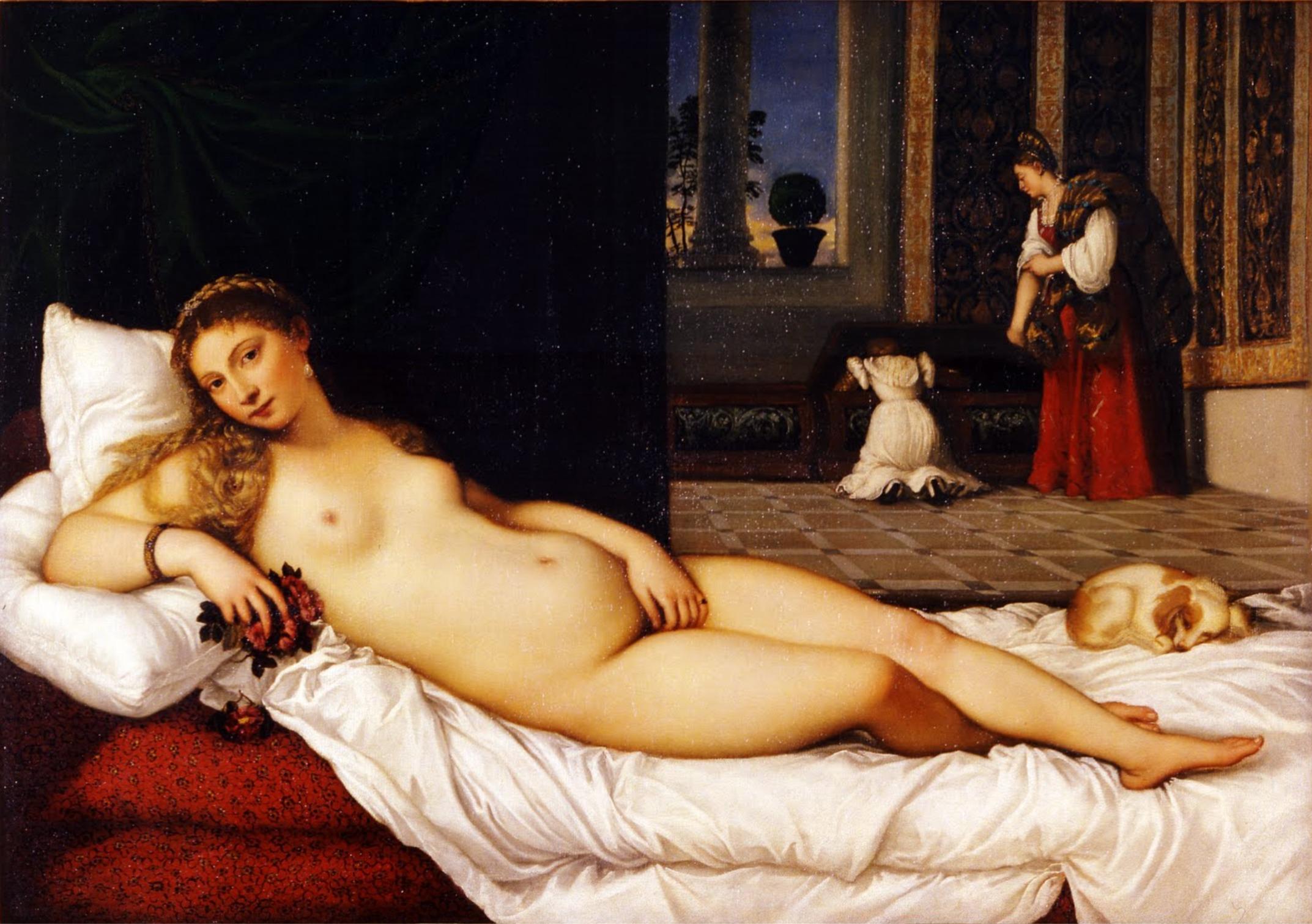 Venere di Urbino - Tiziano