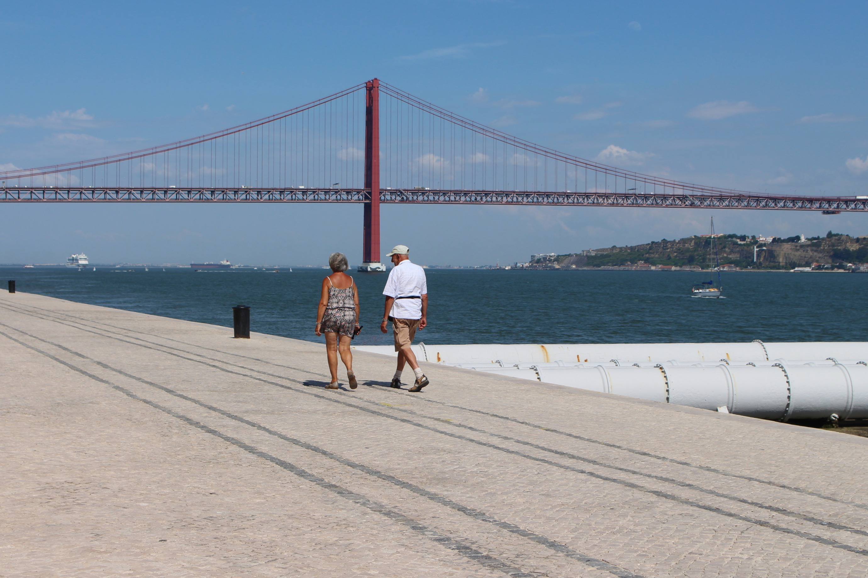 Lisbona, lungomare