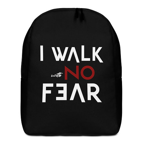 Walk With No Fear Backpack