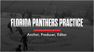Florida Panthers Practice