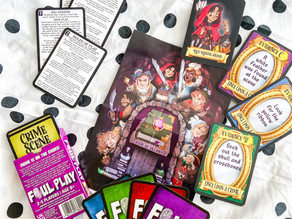 Foul Play - Once Upon A Crime Card Game