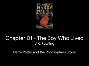 Harry Potter and the Philosopher's Stone – J. K. Rowling