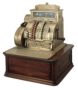 Antieke kassa