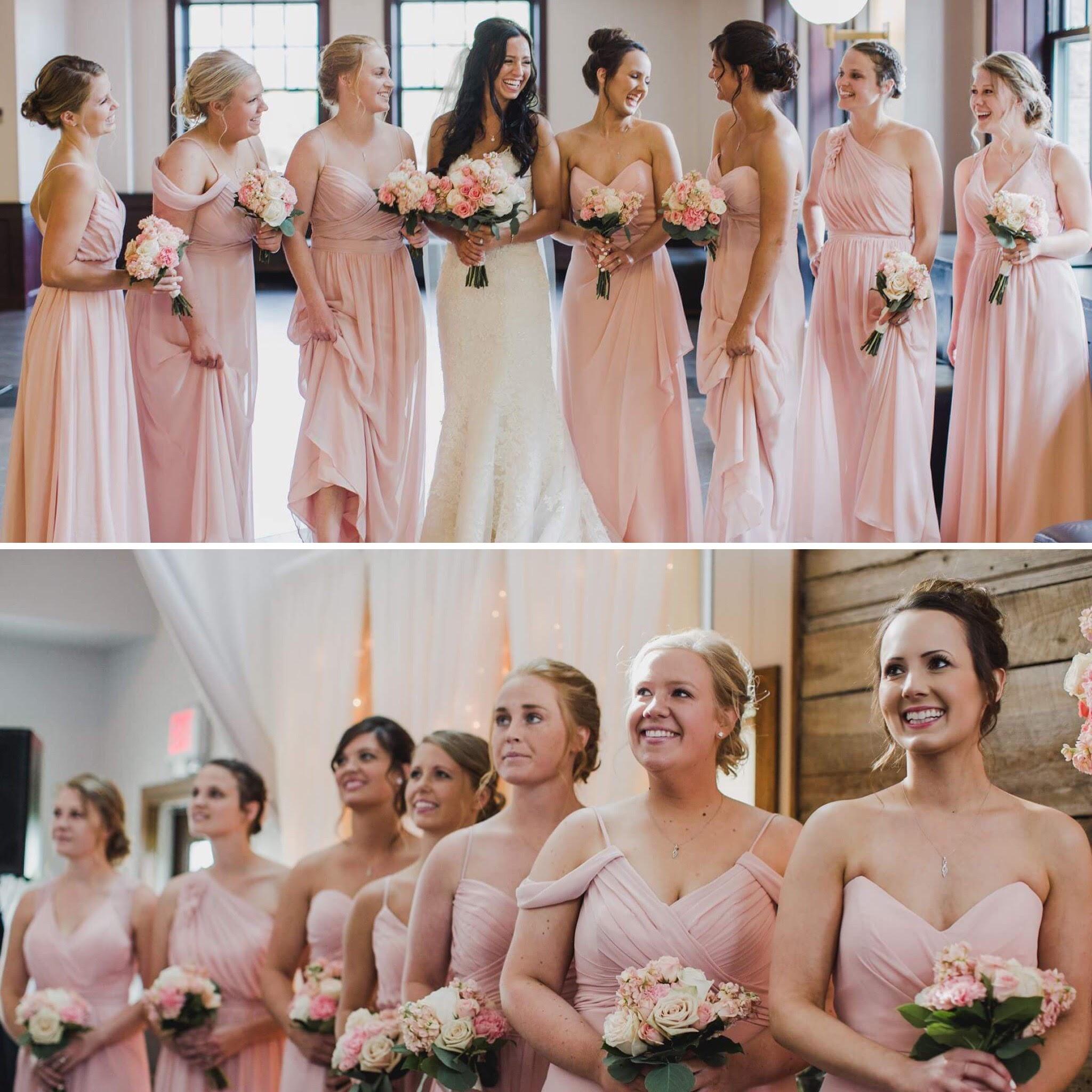 Jillian's Bridal Party