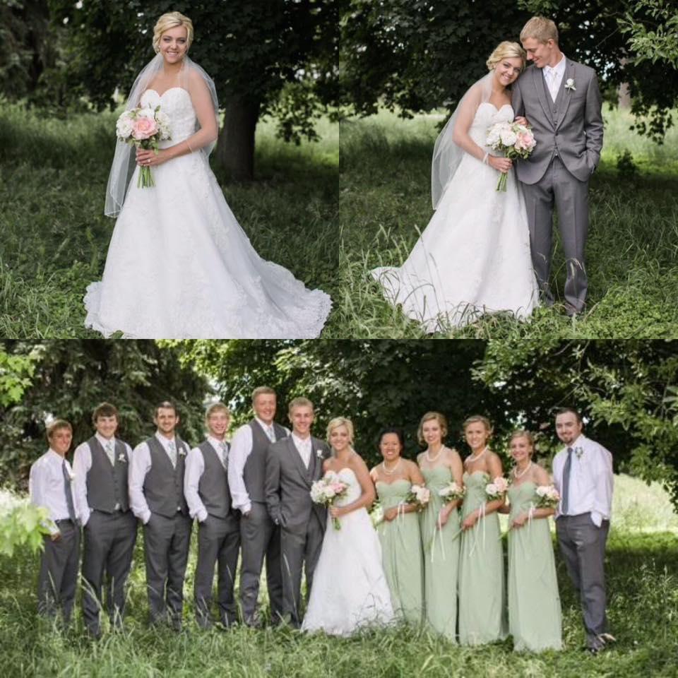Scott & Courtney & Wedding Party