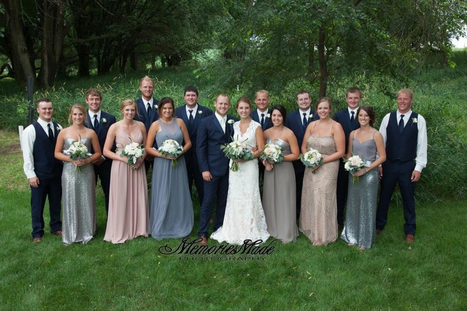 Jamie's Wedding Party