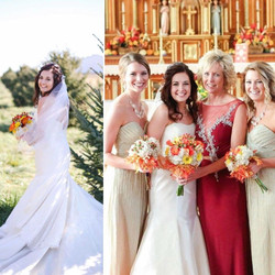 Bride, Maids & Mother-of-the-Bride