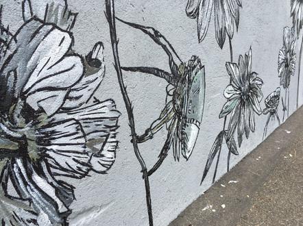 Flowerpower Wall