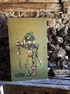 Frog vs. Robot
