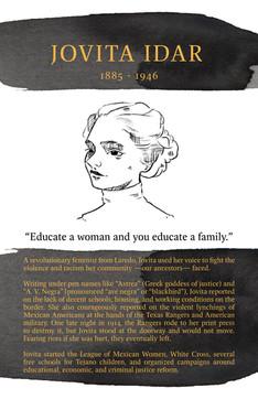 Jovita Idar. A radical Laredo ancestor few learn about.