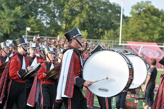 Oak Hillsd drum line